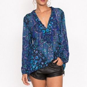 Spell and the gypsy kiss the sky blouse